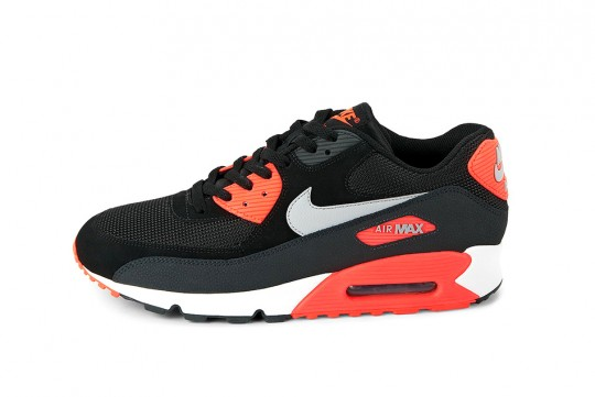 Nike Air Max 90 Essential Homme Black/Atomic Red