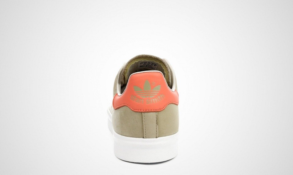 Homme Adidas Stan Smith Vulc Nubuck Chaussures Skate Sable/Orange/Blanc M17183