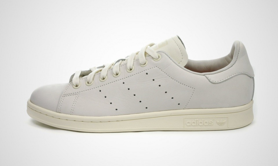 "Adidas Stan Smith ""Stockholm Chic Pack"" Hommes Chaussures Blanche/Blanche Cassé/Poussière Rose B24346"