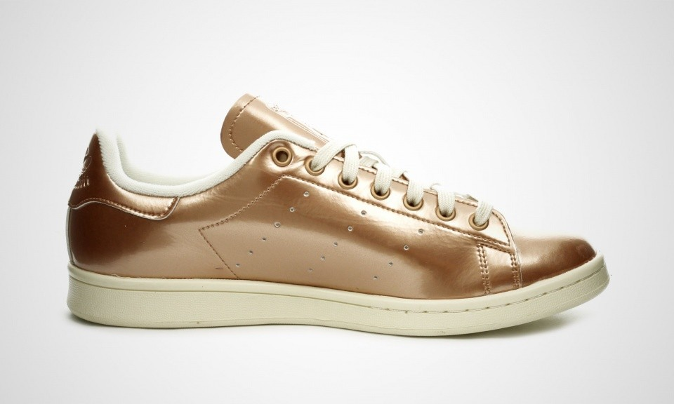 Homme Adidas Stan Smith SNS Brewery Pack - Copper Kettle Chaussures De Sport Cuivre Liquide/Malt Naturel S82597