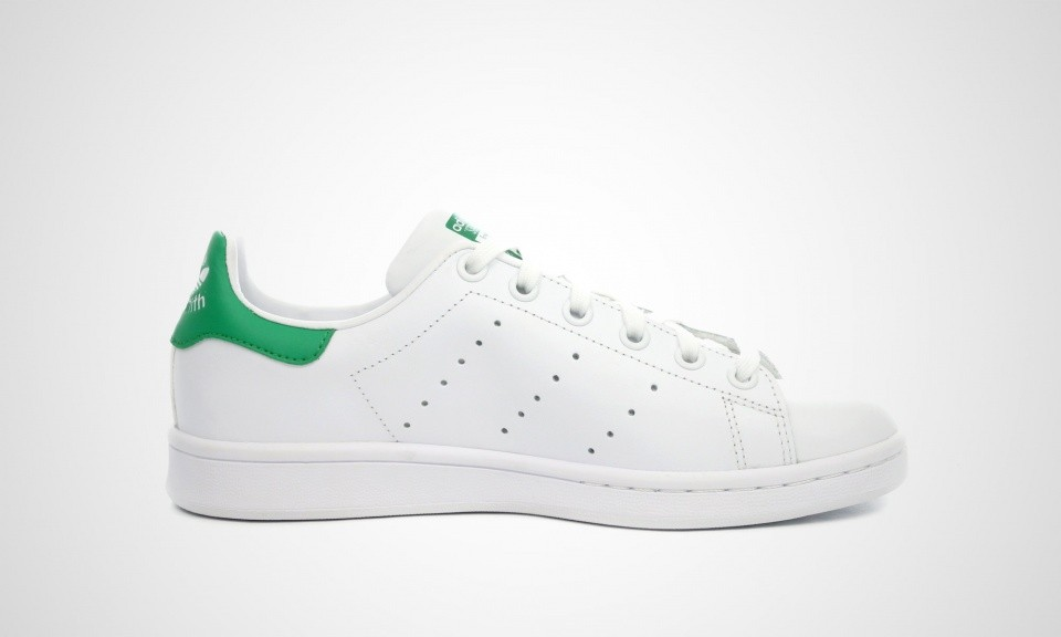 Adidas Originals Stan Smith Juniors Chaussures Skate Blanche/Vert M20605