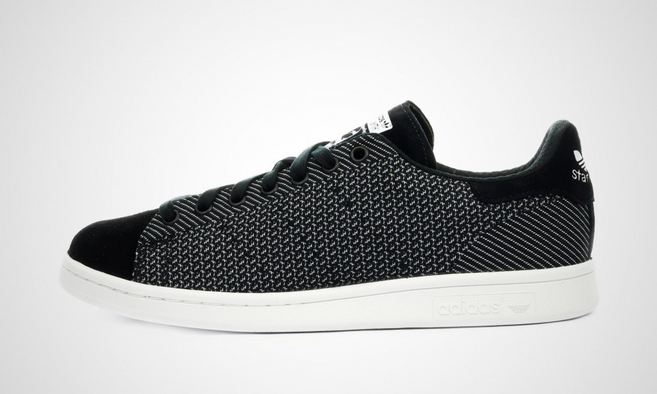 Homme Adidas Stan Smith Weave Sneakers Noir Blanc M17157 ...