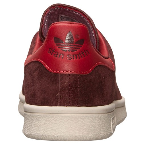 Adidas Stan Smith Daim Homme Chaussures De Sport Renard Rouge Brun/Orange Collégiale M17924