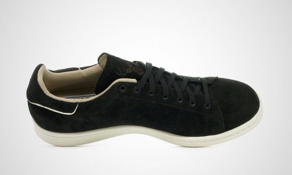 Homme Adidas Stan Smith Made In Germany Chaussures Noir Blanc M17166