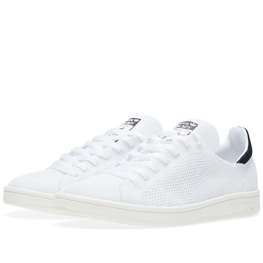 Chaussures Adidas Stan Smith Primeknit roses Casual femme