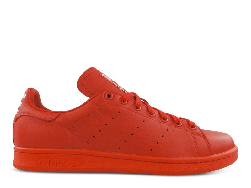 Adidas Originals X Pharrell Williams Pw Stan Smith Sld Icon'S Femmes Chaussures Rouge/Rouge/Blanche Ftw