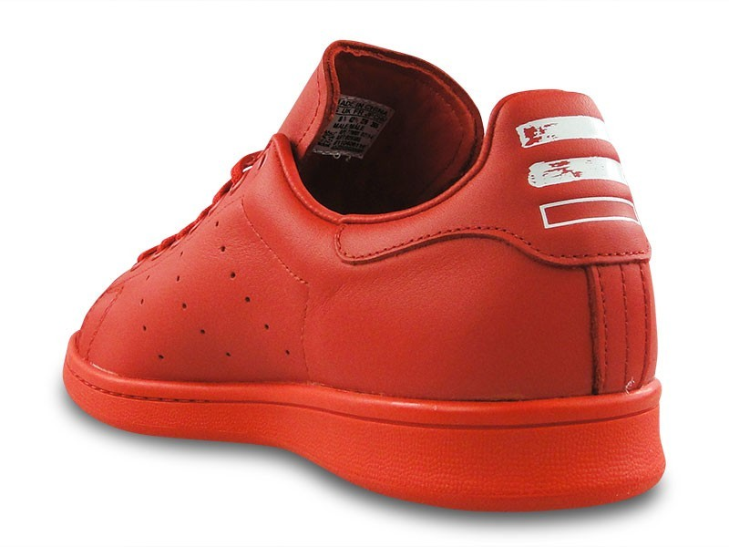 Adidas Originals X Pharrell Williams Pw Stan Smith Sld Icon'S Hommes Sneakers Rouge/Rouge/Blanche Ftw B25385