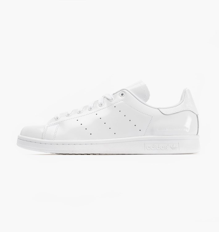 Adidas x White Mountaineering Stan Smith Patent Cuir Homme Chaussures De Sport Ftwr Blanche B24010