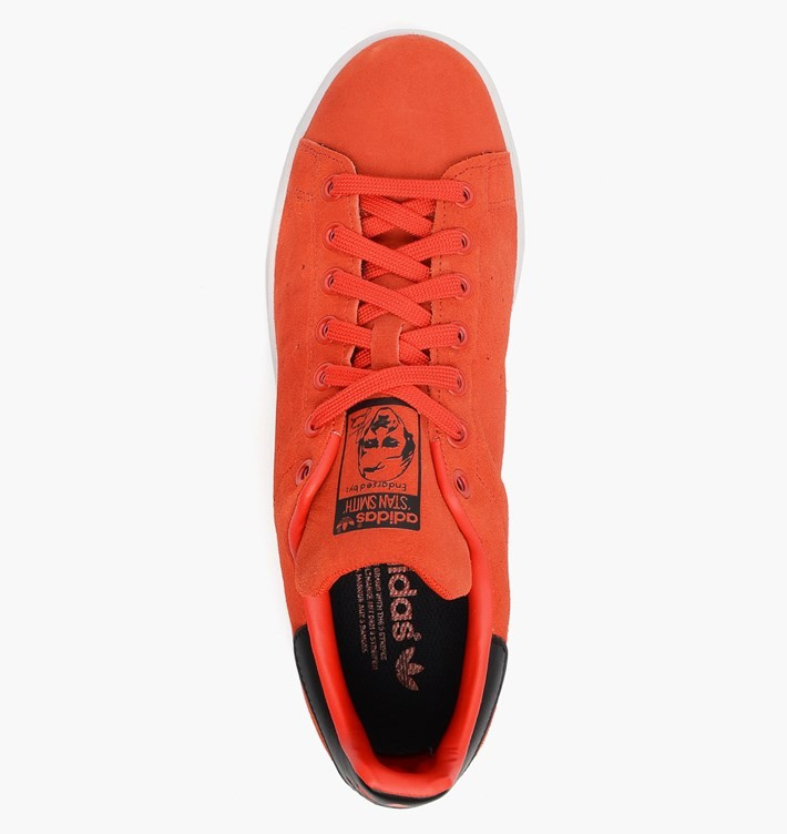 Adidas Stan Smith Daim Chaussures Skate Pour Homme Rouge-Noir/Blanc M17155