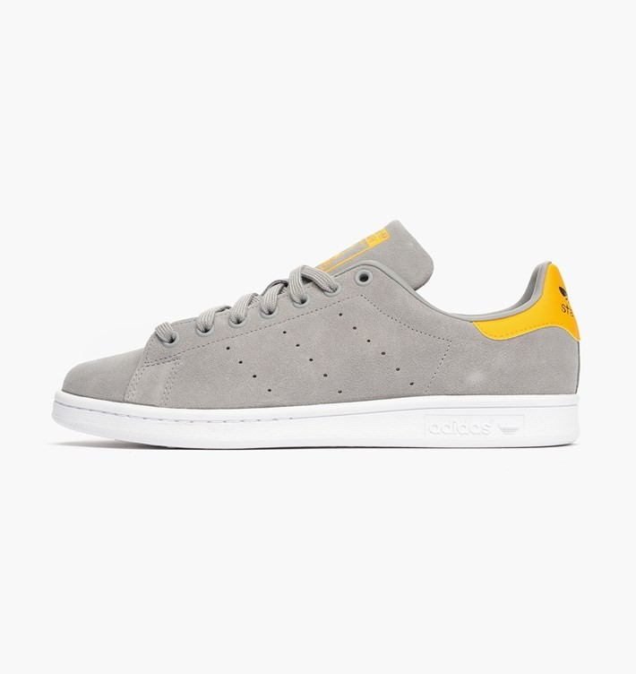 Adidas Stan Smith Stans S/S ´15 Homme Chaussures De Ville Solide Gris/Or M17156