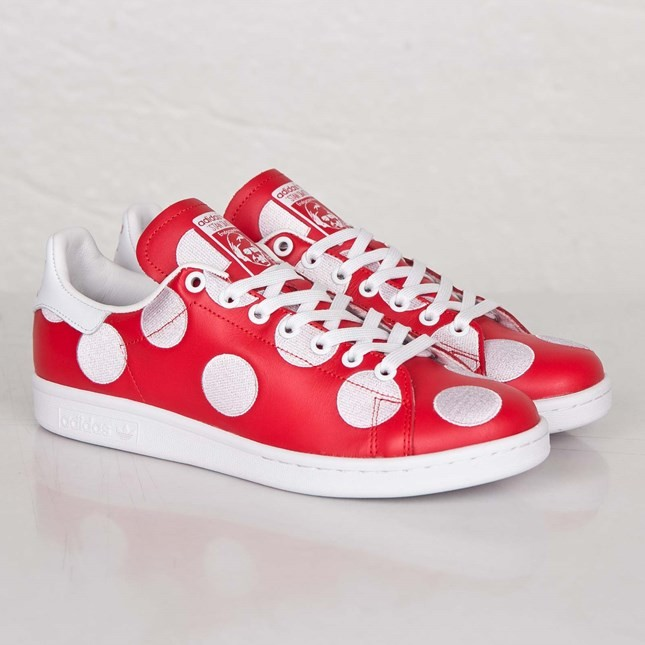Adidas PW Stan Smith BPD Big Polka Dots Print Sneakers Pour Homme Rouge/Blanche Ftwr B25399