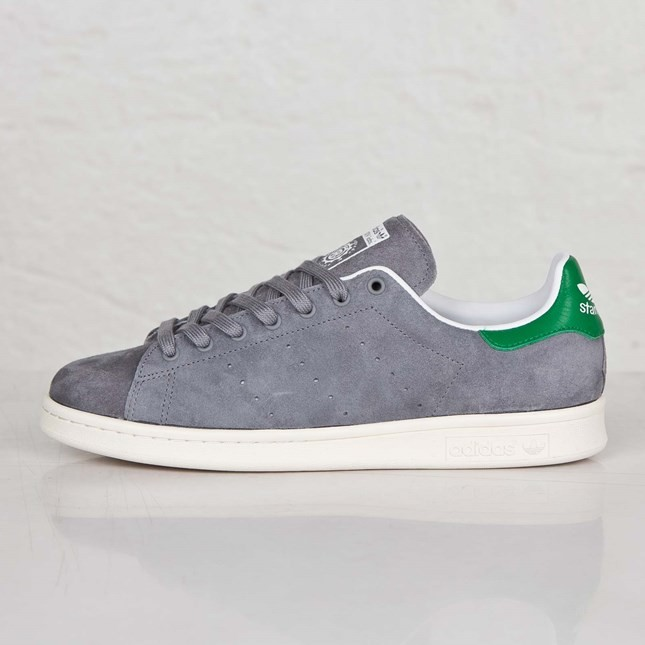 Adidas Originals Stan Smith 84-Lab Homme Chaussures Skate Gris/Craie Blanche B26091