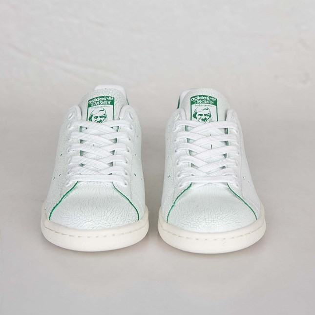 Femme Adidas Originals Stan Smith Sneakers Ftwr Blanche/Vert M19585