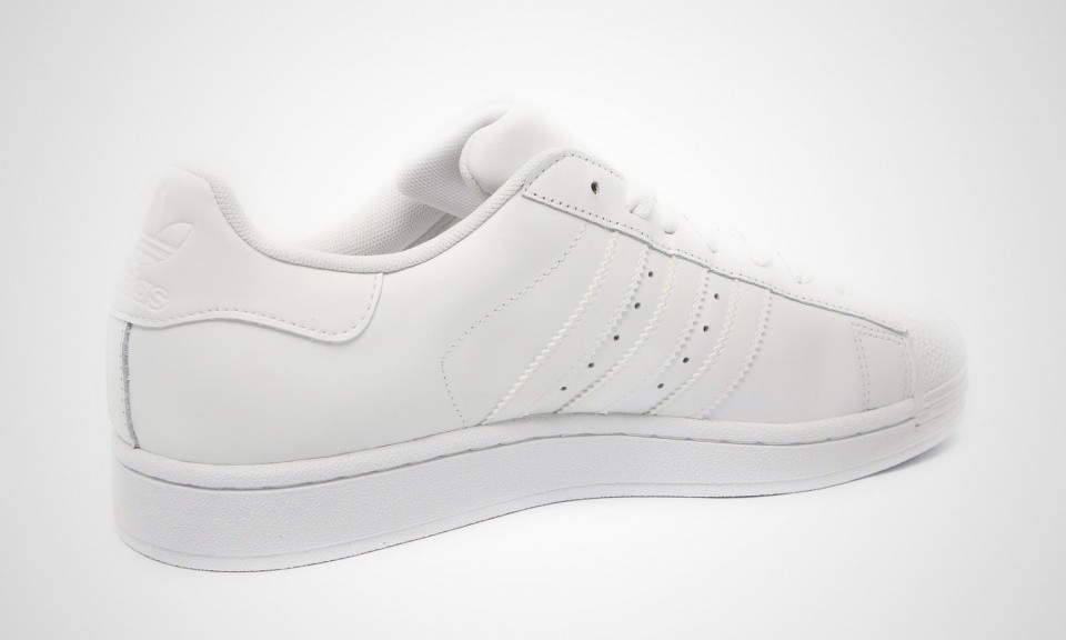 Homme Adidas Originals Superstar 2 II White Chaussures Blanche G17071