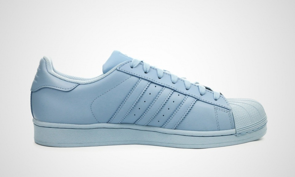 Adidas Superstar Supercolor Pack Clear Sky Trainers Pour Femme Cyan Bleu Ciel S41830