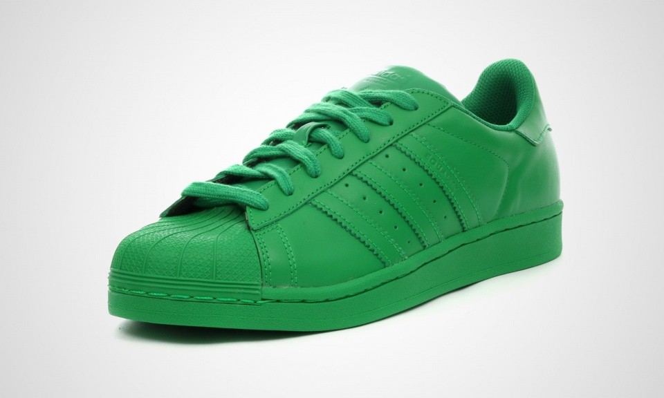 Adidas Superstar Supercolor Pack Femmes Sneakers Vert S83389