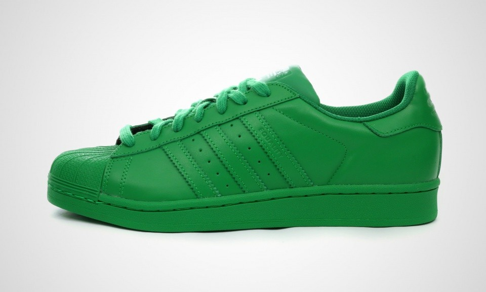 Adidas Superstar Supercolor Pack Femmes Sneakers Vert S83389 ...