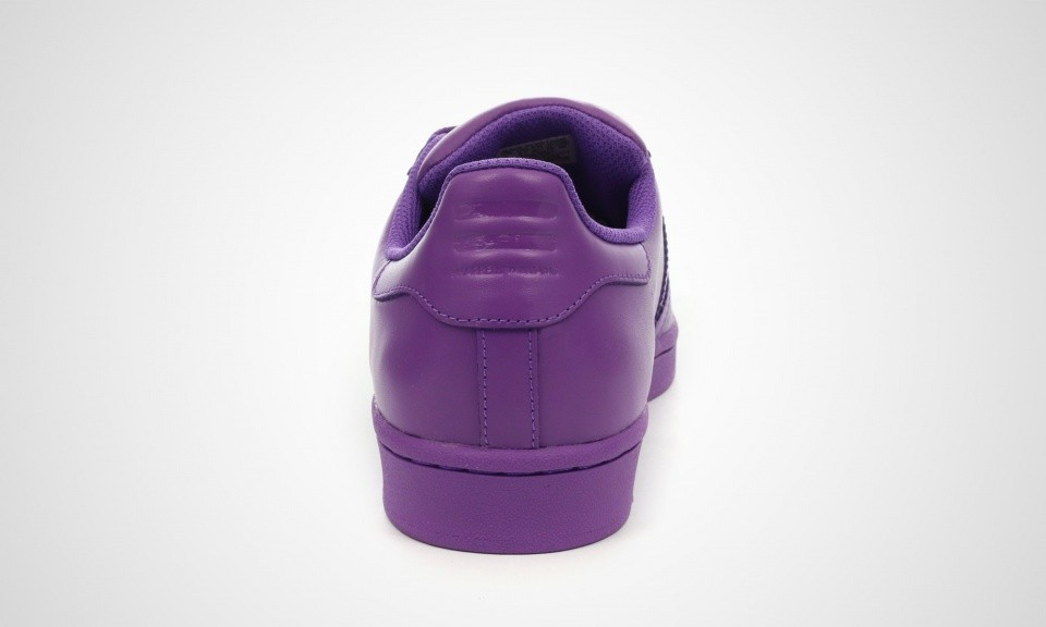 Adidas Superstar Supercolor Pack Femme Chaussures De Ville Ray Violet S41836