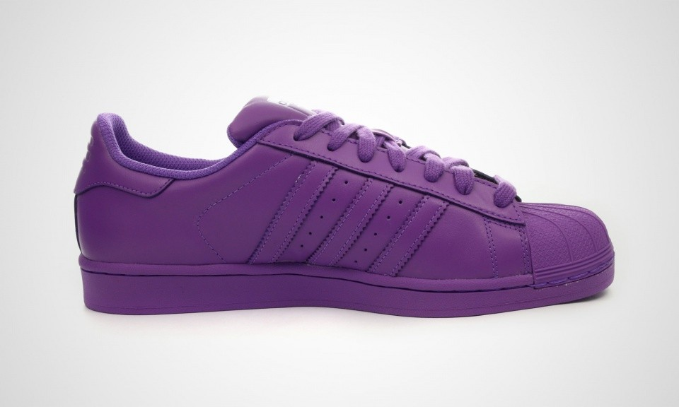 Adidas Superstar Supercolor Pack Hommes Chaussures De Sport Ray Violet S41836