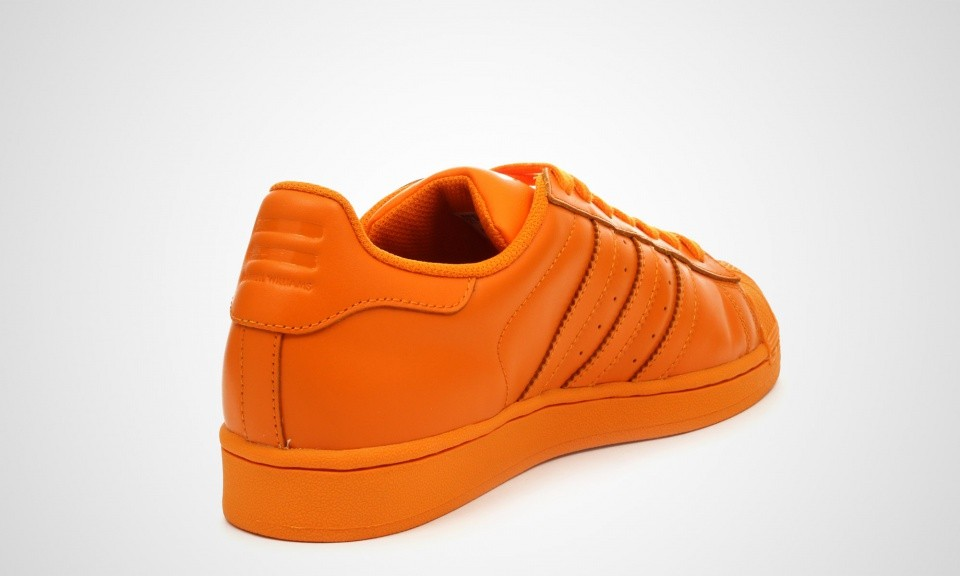 Homme Adidas Superstar Supercolor Pack Sneakers Orange Vif S83394