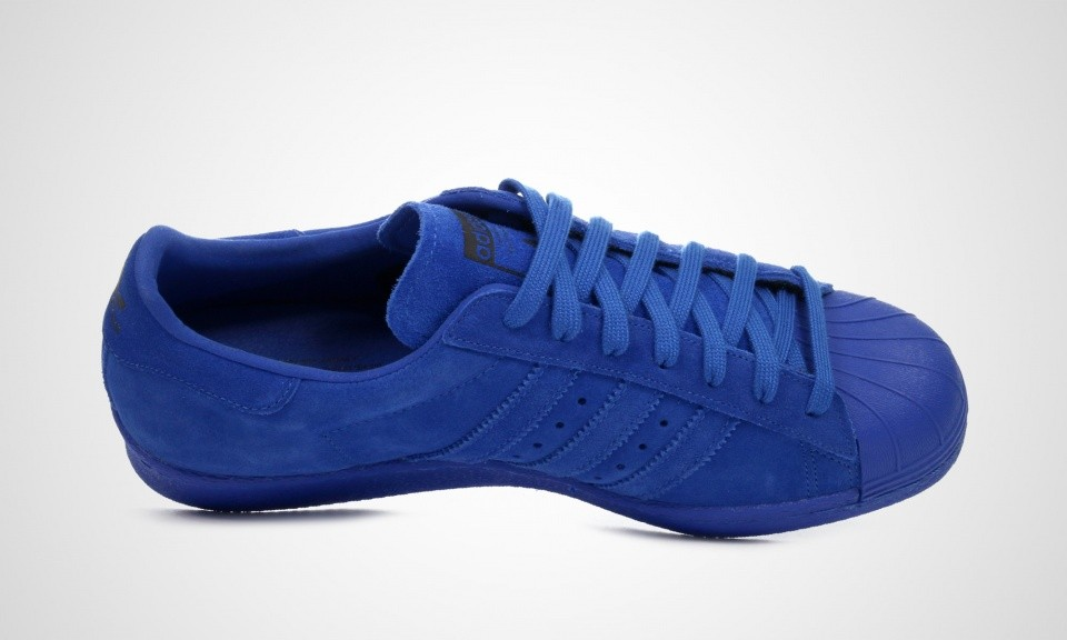 Adidas Superstar 80s City Series - Paris Hommes Trainers Bleu B32662