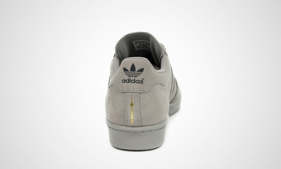 Adidas Superstar 80s City Series - Berlin Sneakers Pour Homme Gris B32661