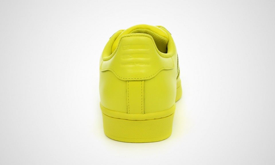 Adidas Superstar Supercolor Pack x Pharell Williams Femme Sneakers Jaune Vif S41837