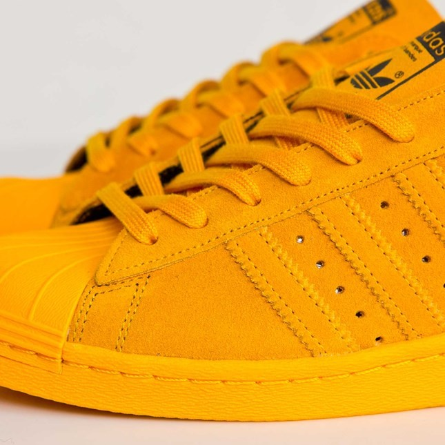 Homme Adidas Superstar 80s City Series - Shanghai Chaussures De Ville Or Collégiale B32665