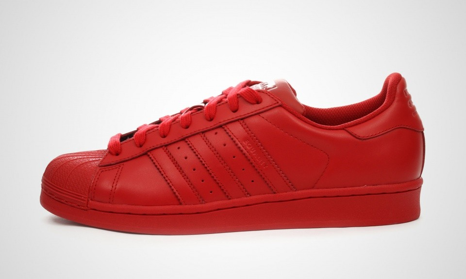 Adidas Superstar Supercolor Pack Homme Chaussures De Sport Rouge S41833