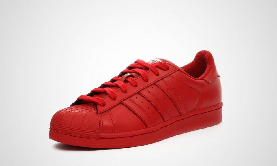 adidas superstar supercolor femme rouge