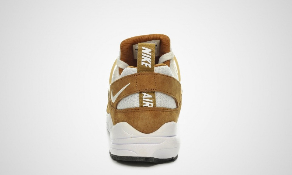 Homme Nike Air Huarache Light OG Trainers Curry Noir/Blanche De Blé 306127-717