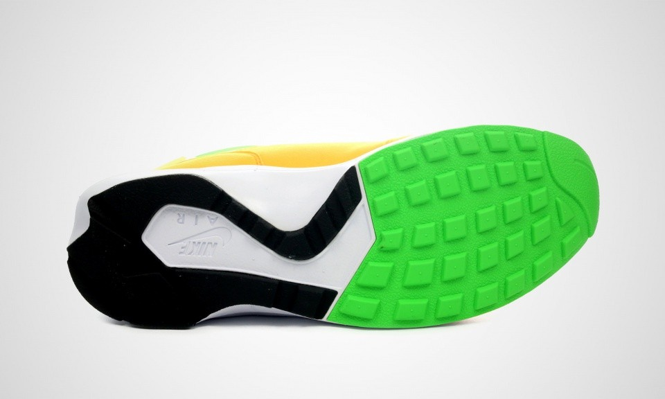 Femme Nike Air Huarache Light Chaussures De Ville Atomique Mangue/L'Action Vert-Blanc 306127-831