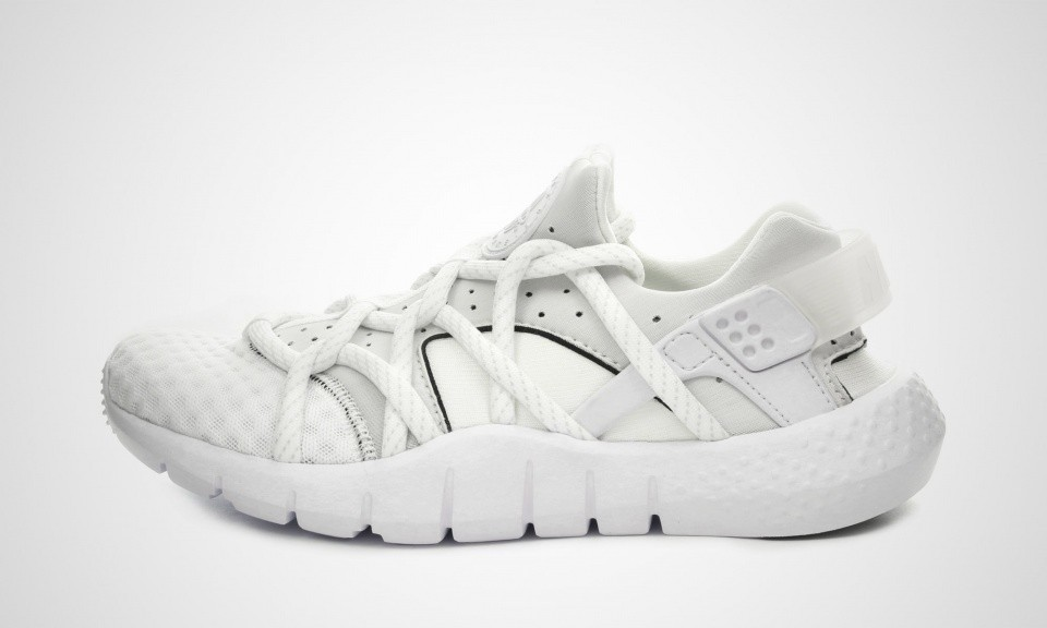 Nike Air Huarache NM All White Hommes Trainers Blanche/Voile 705159-100