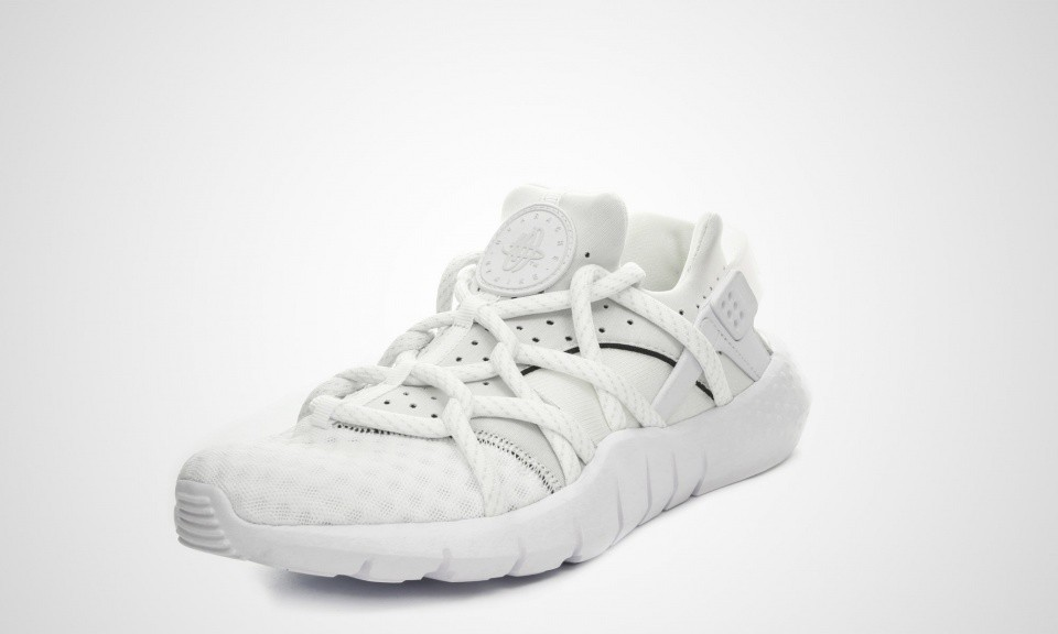 Femme Nike Air Huarache NM All White Chaussures Blanche/Voile 705159-100