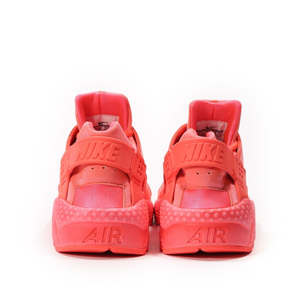factory price 91d95 1ff92 ... Femme Nike Air Huarache Run Premium Trainers Chaude Lave Rouge 683818- 800 ...