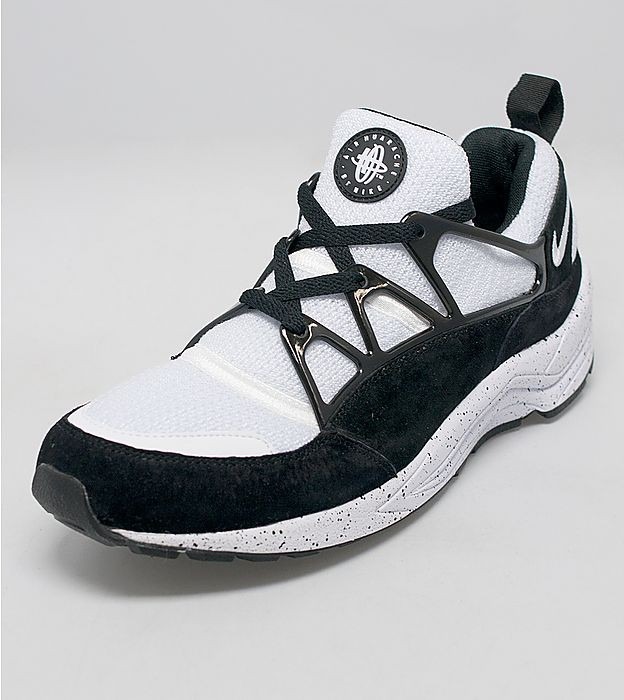 Nike Air Huarache Light Eclipse Femme Chaussures Noir Blanc