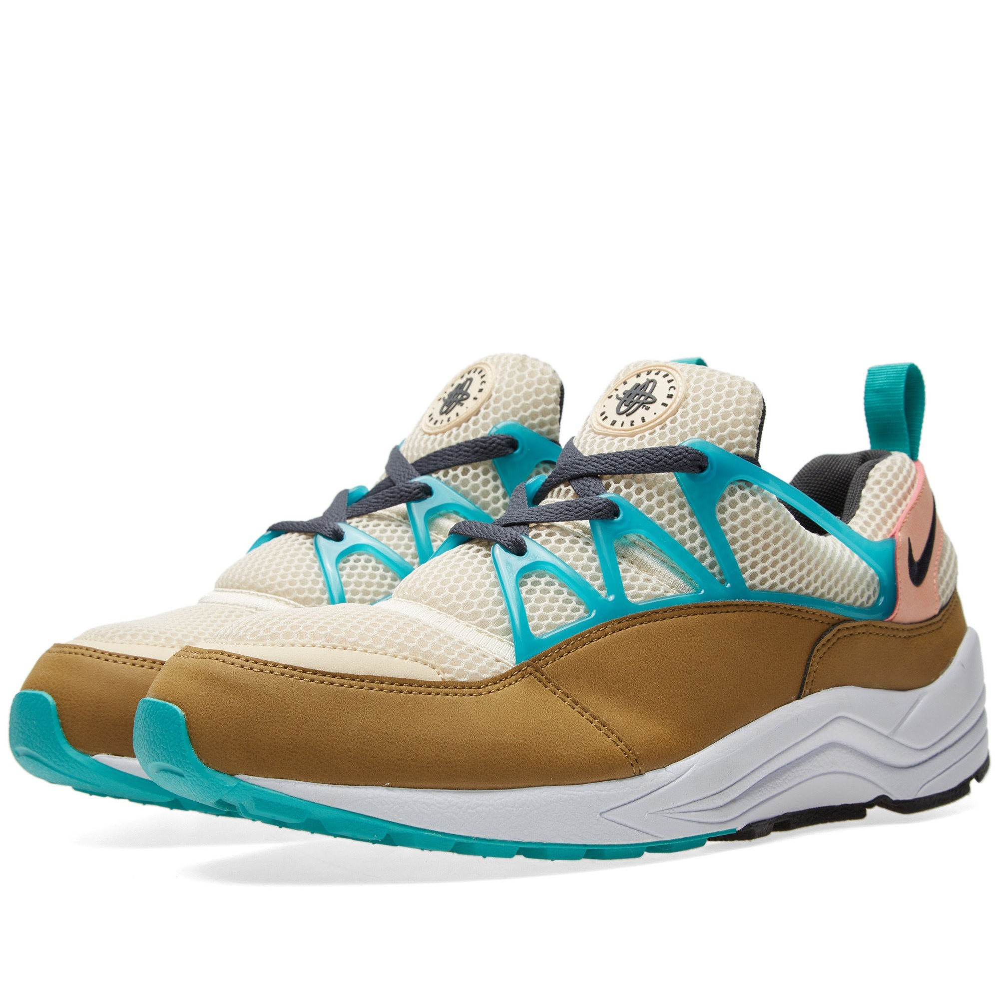 Nike Air Huarache Light FB Femmes Chaussures De Ville Opale Plat/Anthracite 725156-200