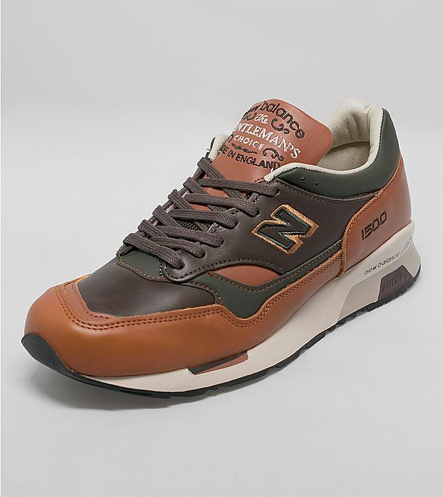 Homme New Balance 1500 Gentleman's Choice Pack - Made in England Trainers Tan/Brun/Vert