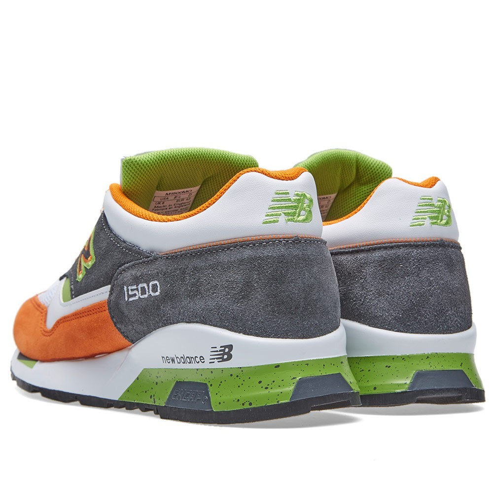 offres new balance m1500mo made in england chaussures running pour homme blanche orange vert. Black Bedroom Furniture Sets. Home Design Ideas