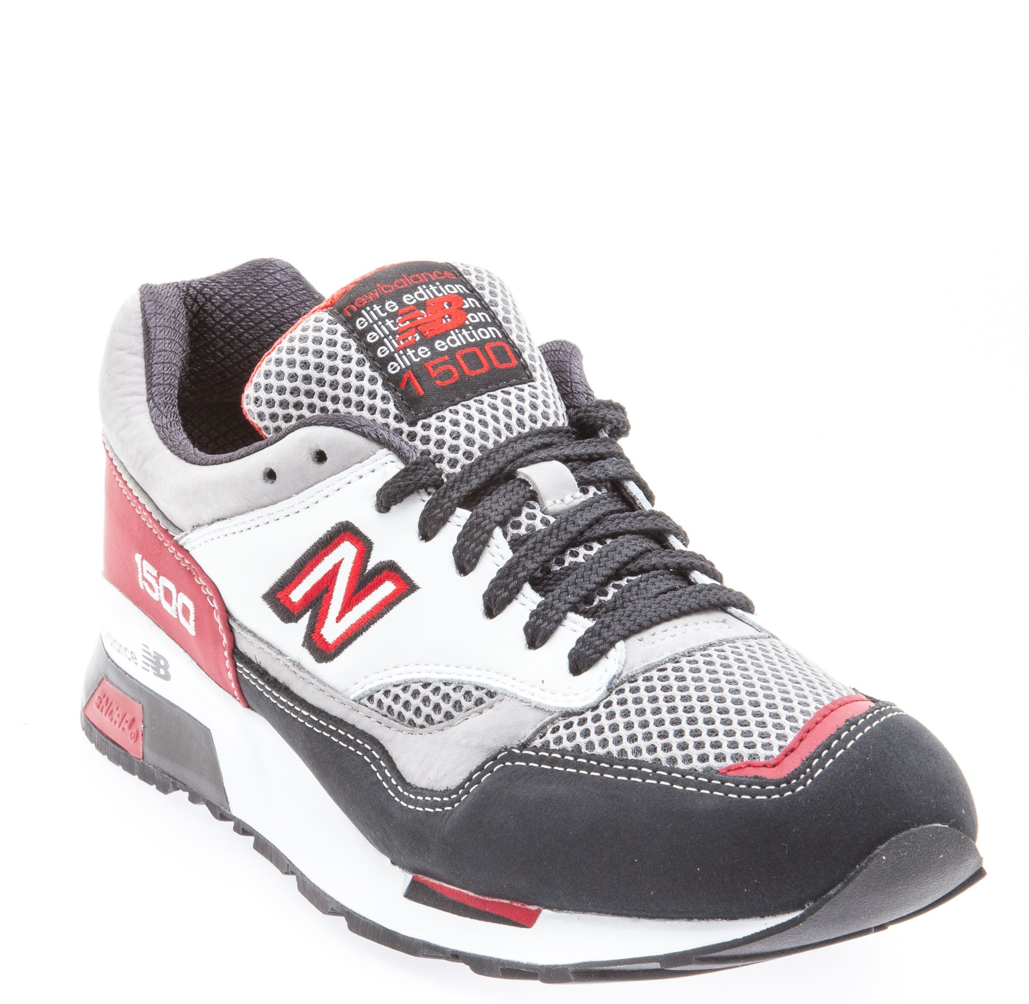 Homme New Balance 1500 Elite Rider's Club Chaussures Anthracite Gris Rouge