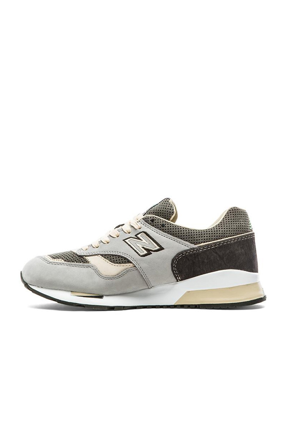 Femme New Balance CM1500 Made In USA Chaussures De Sport Vert Gris Beige