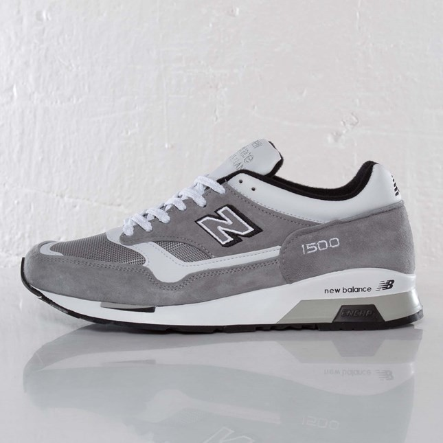 New Balance M1500 Made in England Chaussures De Ville Pour Homme Gris M1500GWS