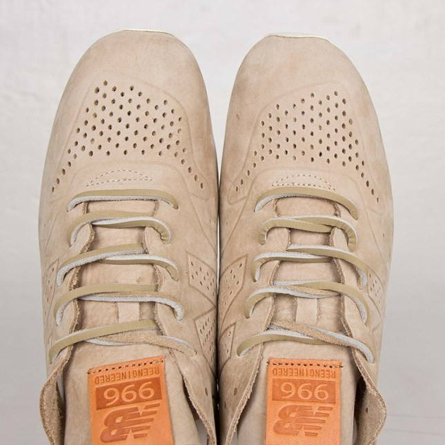 New Balance 996 Reengineered Tan Sneakers Pour Homme Kaki/Blanche Beige MRL996DB