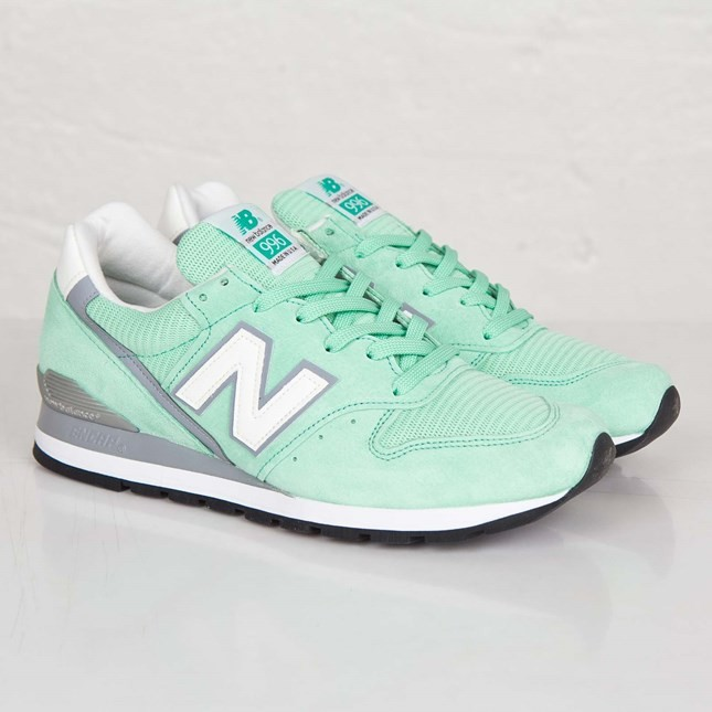 New Balance 996 Made in USA Femme Chaussures Menthe M996CPS