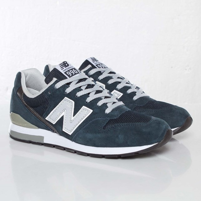 New Balance 996 Sneakers Pour Femme Marine MRL996AN