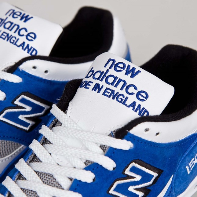 Homme New Balance 1500 Made in England Chaussures Bleu/Blanc M1500SB