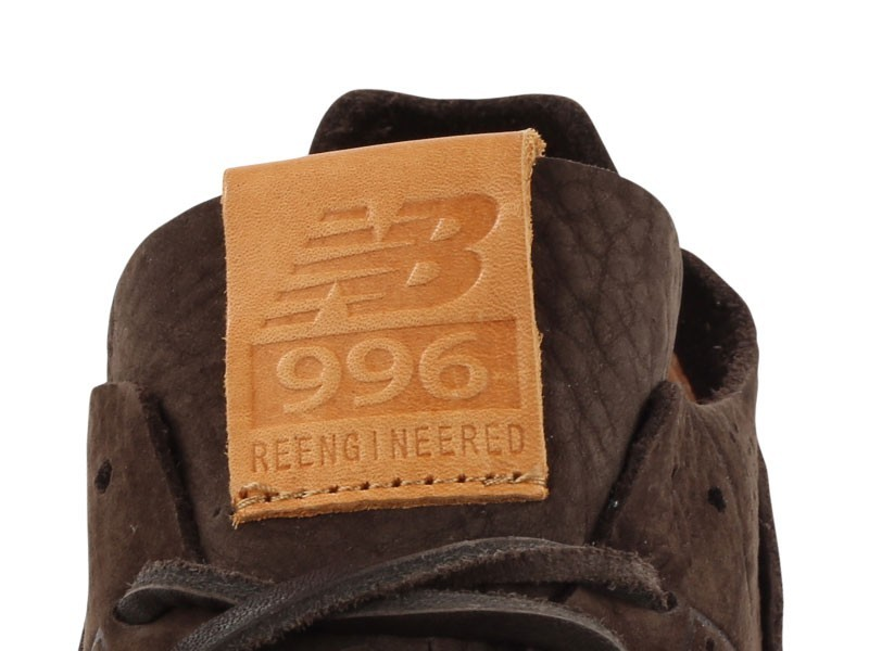 New Balance 996 Deconstructed Re-Engineered Femmes Chaussures De Ville Brun Foncé MRL996DA