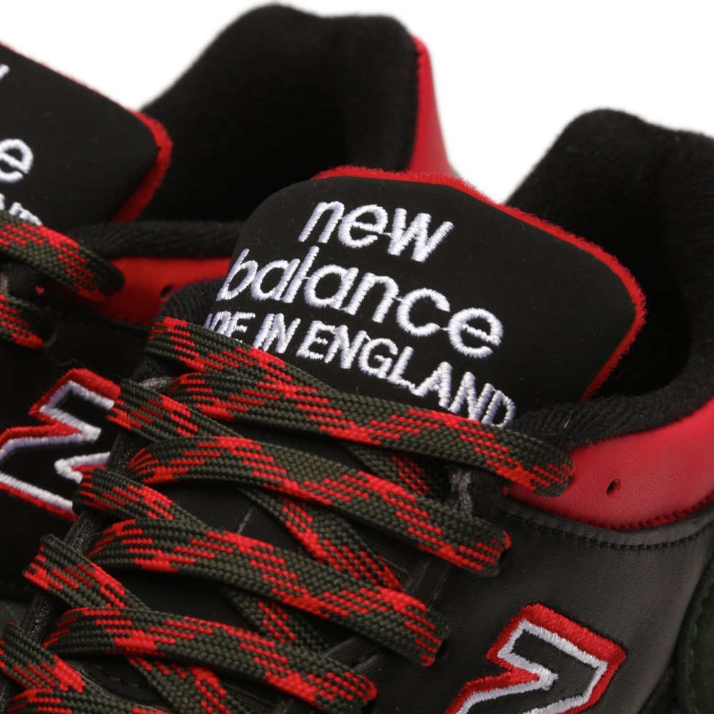 New Balance 1500 - Made In England Sneakers Pour Homme Vert Foncé/Noir Rouge M1500RGR