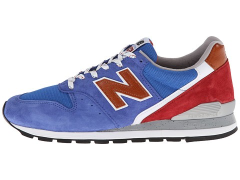 New Balance Classics M996 Made in USA National Parks Homme Trainers Bleu Rouge