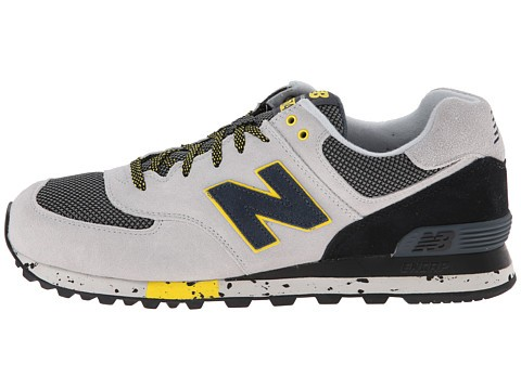 New Balance Classics ML574 - Outdoor Collection Sneakers Pour Homme Gris Noir